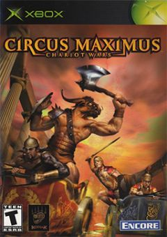 Jaquette de Circus Maximus : Chariot Wars Xbox