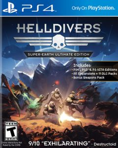 Jaquette de Helldivers : Super-Earth Ultimate Edition PS4