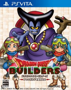 Jaquette de Dragon Quest Builders PS Vita