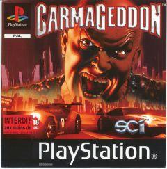 Jaquette de Carmageddon PlayStation