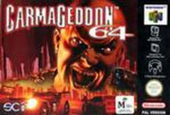 Jaquette de Carmageddon Nintendo 64