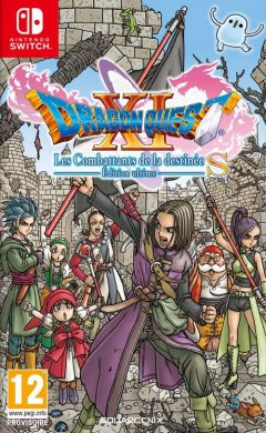 Jaquette de Dragon Quest XI : Les Combattants de la destinée Nintendo Switch