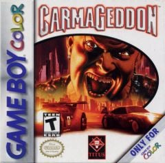 Jaquette de Carmageddon Game Boy Color