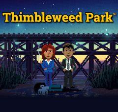 Jaquette de Thimbleweed Park PS4