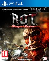 Jaquette de Attack on Titan : Wings of Freedom PS4