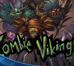Jaquette de Zombie Vikings PS4