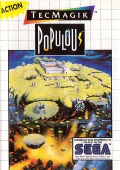 Jaquette de Populous Master System