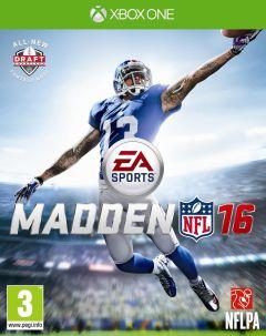 Jaquette de Madden NFL 16 Xbox One