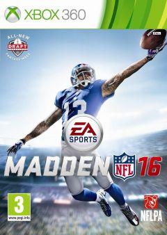 Jaquette de Madden NFL 16 Xbox 360