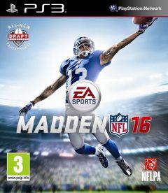Jaquette de Madden NFL 16 PlayStation 3