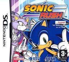 Jaquette de Sonic Rush DS