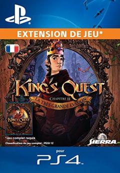 Jaquette de King's Quest : Chapitre 2 - La Très Grande Evasion PS4