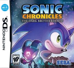 Jaquette de Sonic Chronicles : The Dark Brotherhood DS