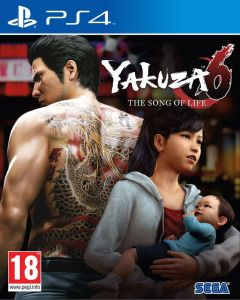 Jaquette de Yakuza 6 PS4