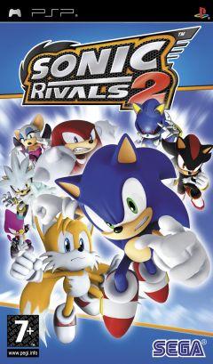 Jaquette de Sonic Rivals 2 PSP