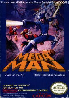 Jaquette de Mega Man NES