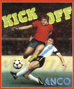 Jaquette de Kick Off Amiga