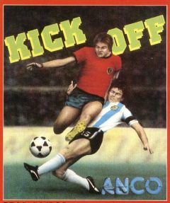 Jaquette de Kick Off Commodore 64