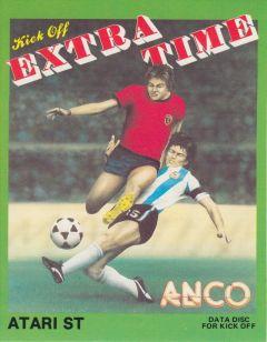 Jaquette de Kick Off : Extra Time Atari ST