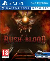 Jaquette de Until Dawn : Rush of Blood PS4