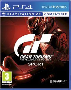 Jaquette de Gran Turismo Sport PS4
