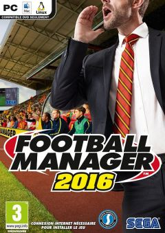Jaquette de Football Manager 2016 PC