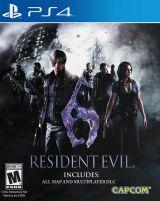 Jaquette de Resident Evil 6 PS4