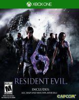 Jaquette de Resident Evil 6 Xbox One