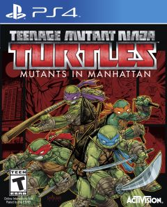 Jaquette de Teenage Mutant Ninja Turtles : Des Mutants à Manhattan PS4
