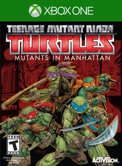 Jaquette de Teenage Mutant Ninja Turtles : Des Mutants à Manhattan Xbox One