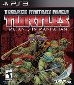 Jaquette de Teenage Mutant Ninja Turtles : Des Mutants à Manhattan PlayStation 3