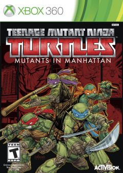 Jaquette de Teenage Mutant Ninja Turtles : Des Mutants à Manhattan Xbox 360