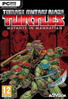 Jaquette de Teenage Mutant Ninja Turtles : Des Mutants à Manhattan PC