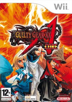 Jaquette de Guilty Gear XX Accent Core Wii