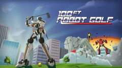 Jaquette de 100ft Robot Golf PS4