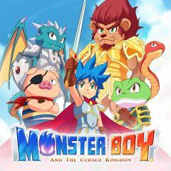 Jaquette de Monster Boy et le Royaume Maudit PS4