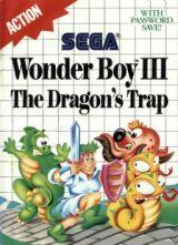 Jaquette de Wonder Boy III : The Dragon's Trap Master System