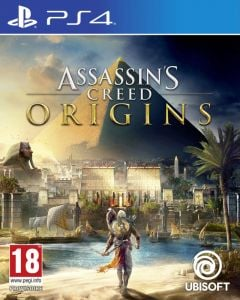 Jaquette de Assassin's Creed Origins PS4