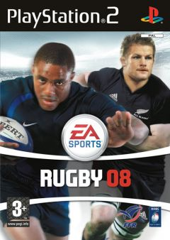 Jaquette de Rugby 08 PlayStation 2