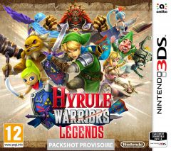 Jaquette de Hyrule Warriors Legends Nintendo 3DS