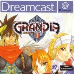 Jaquette de Grandia II Dreamcast