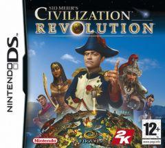 Jaquette de Sid Meier's Civilization Revolution DS