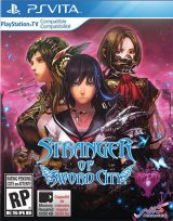 Jaquette de Stranger of Sword City PS Vita