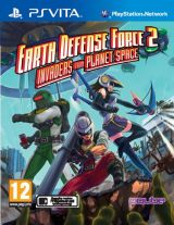Jaquette de Earth Defense Force 2 : Invaders from Planet Space PS Vita