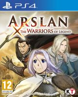 Jaquette de Arslan : The Warriors of Legend PS4