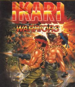 Jaquette de Ikari Warriors Commodore 64