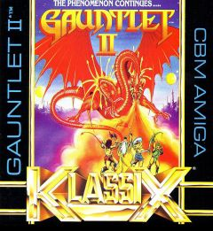 Jaquette de Gauntlet II Amiga