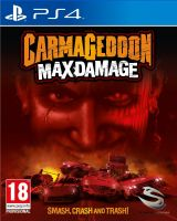 Jaquette de Carmageddon : Max Damage PS4
