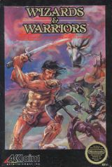 Jaquette de Wizards and Warriors NES