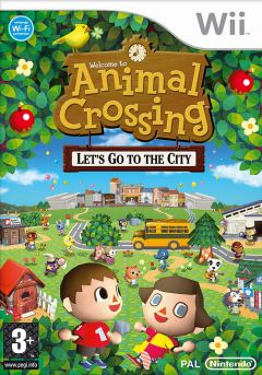 Jaquette de Animal Crossing : Let's Go to the City Wii